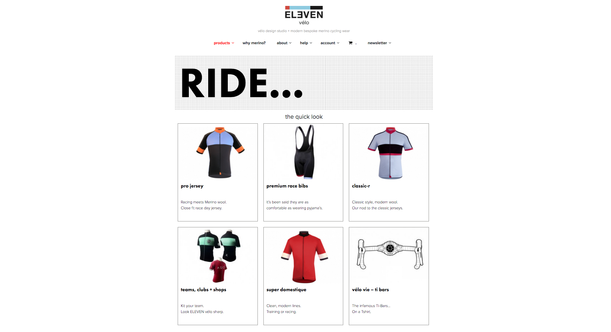vélo design studio + modern bespoke merino cycling wear