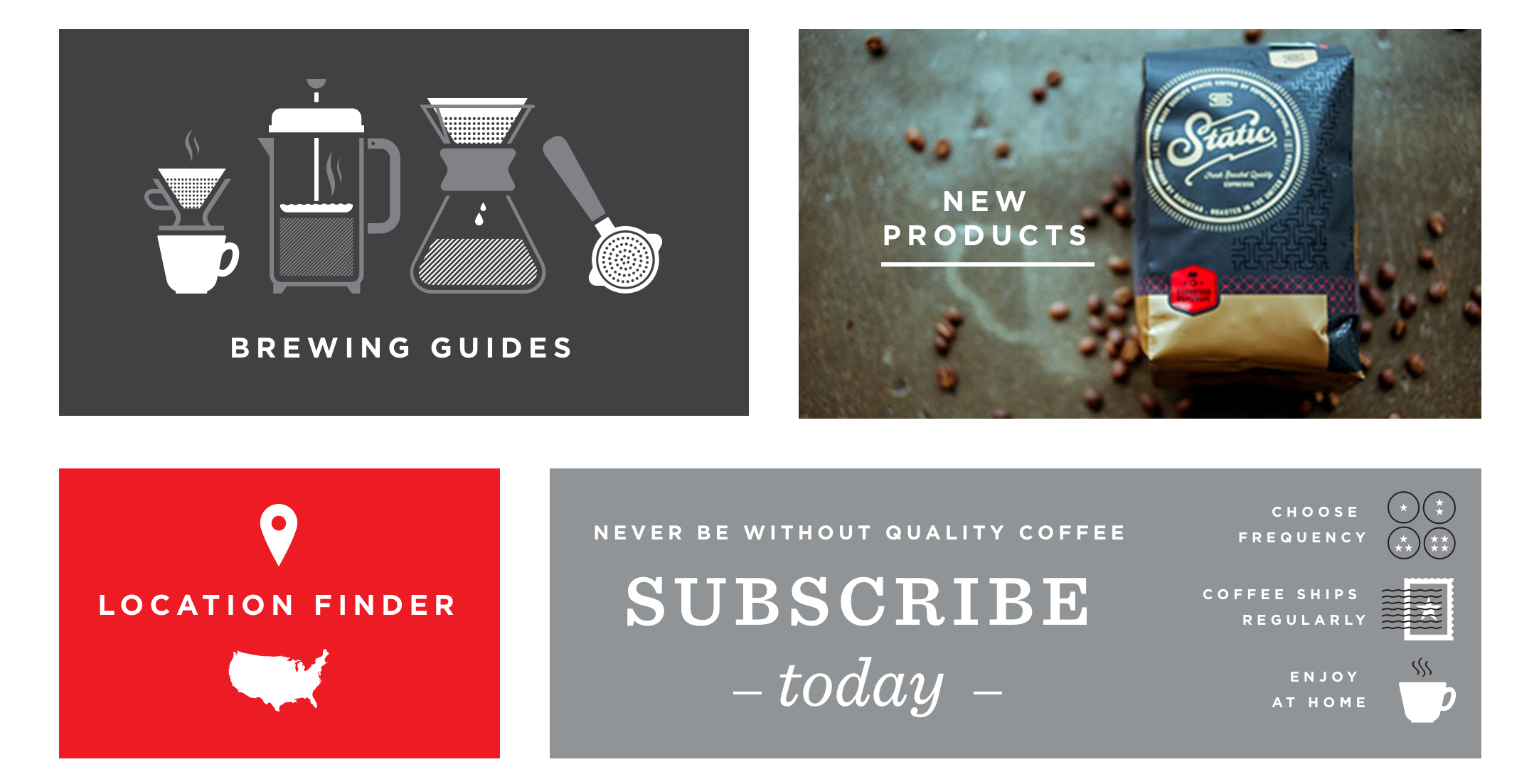 Wonderful coffee, and a subscription option made available for those of you who might like it.