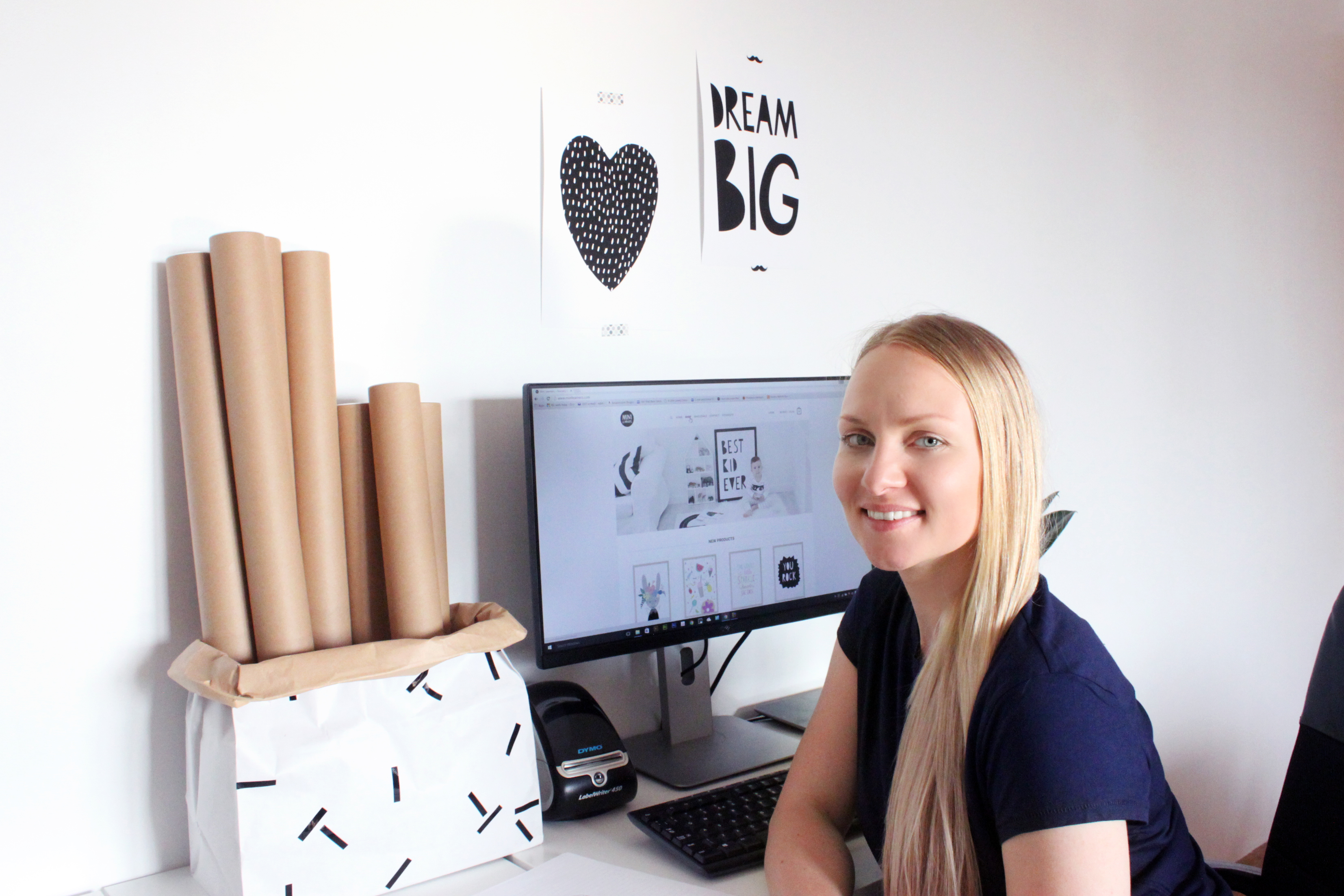 How eCommerce was a game changer for an entrepreneurial Lithuanian mum