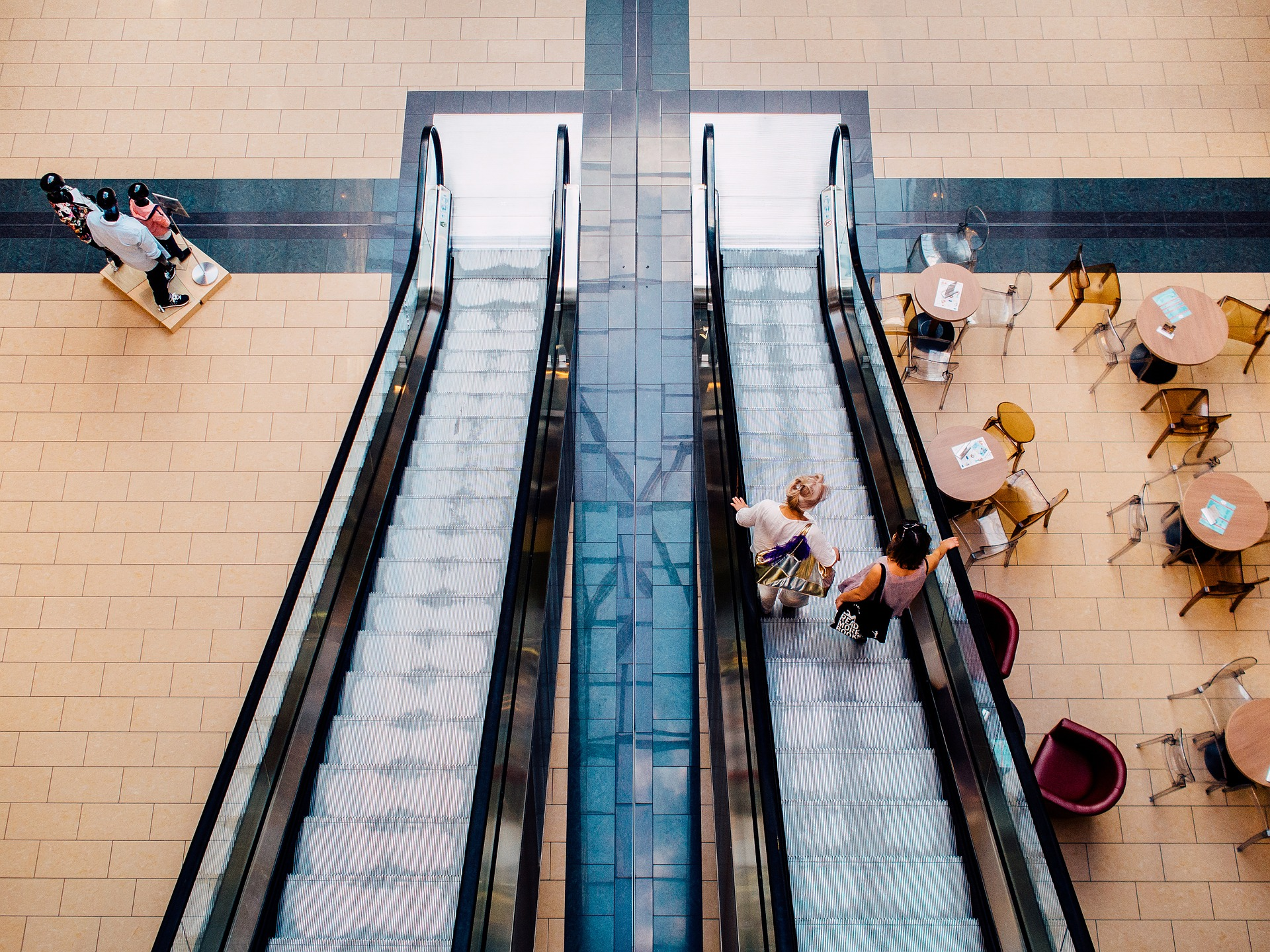 A mall can be a great place for some shops. But for others, the flow of traffic from shoppers looking for deals and discounts won't help them at all.