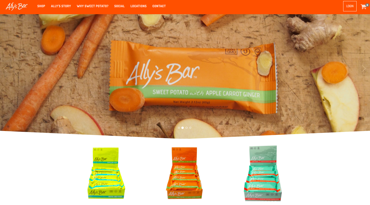 From lemonade and river rocks to energy bars: the Ally's Bar story
