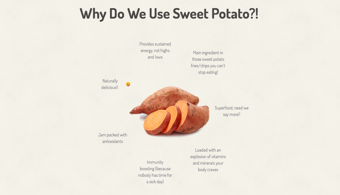Oh sweet potato. How we love you. Let us count the ways.