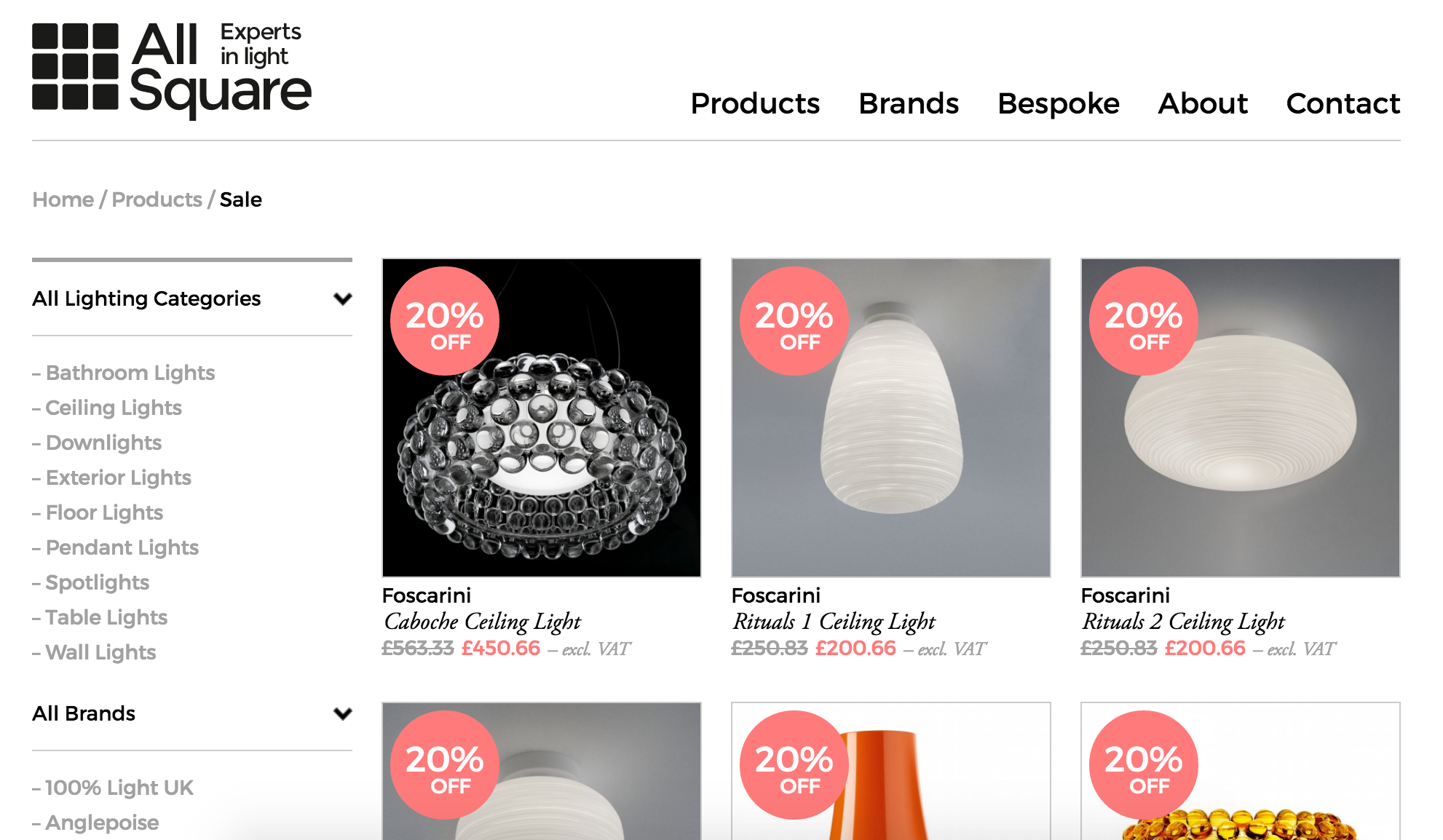 Looking for a discount on a lamp or overhead light? Look no further than this dedicated page.