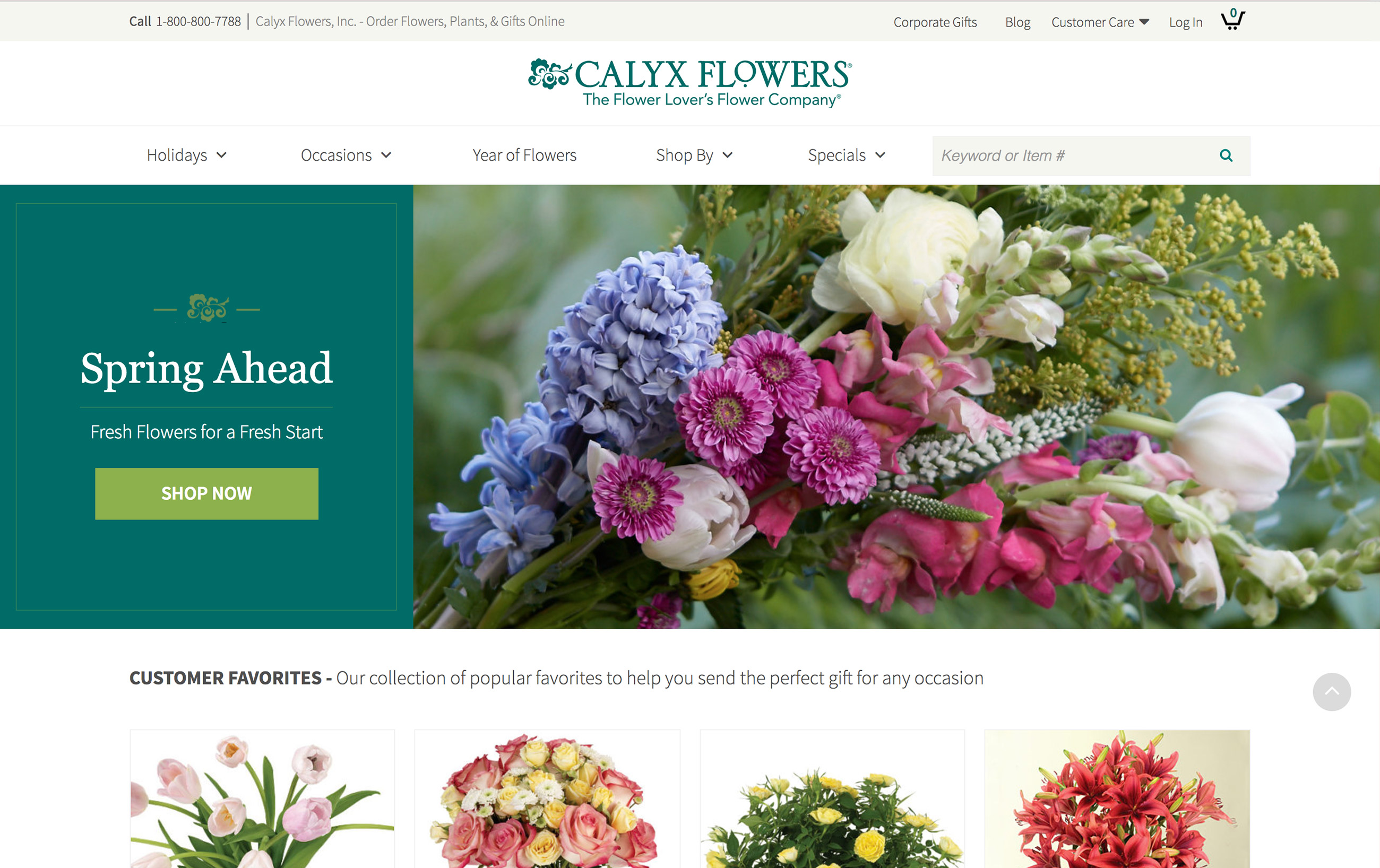 calyx flowers Fiscal1991 one hundred thousand prior customers received one catalog per month, which provided 60,000 orders recipients of calyx & corolla flowers and others who had.