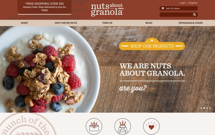 Nuts About Granola