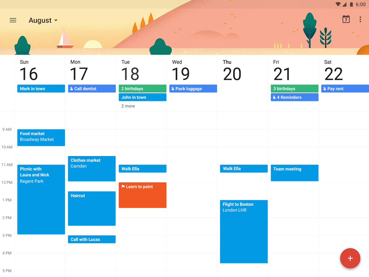 Google Calendar is an easy (and free) tool that can help you keep track of the holidays you're targeting, what you're doing, and who is responsible.