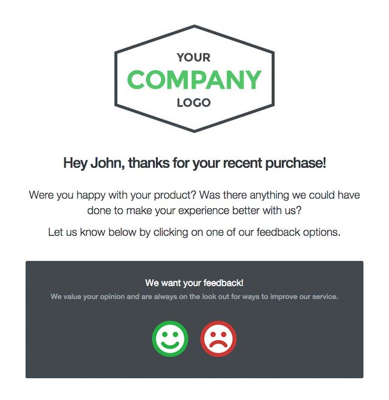 Post-purchase emails to send to holiday customers