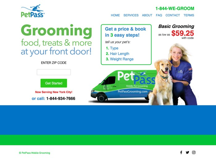 Pet Pass Mobile Grooming
