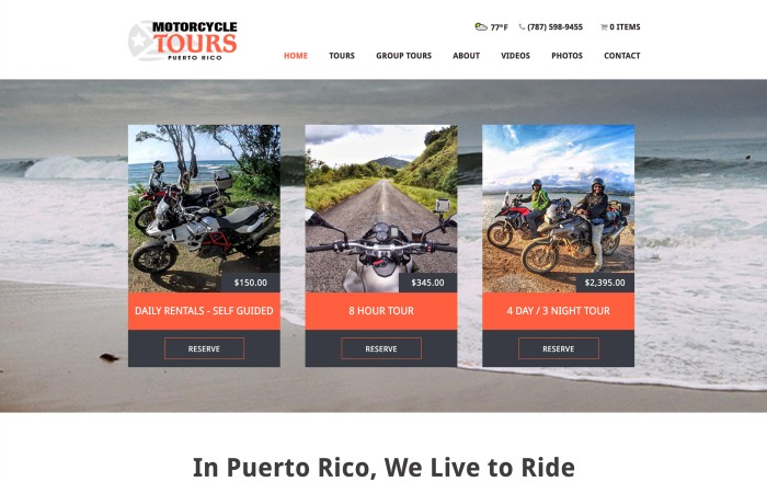 Motorcycle Tours Puerto Rico