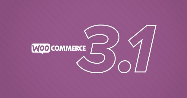 WooCommerce 3.1