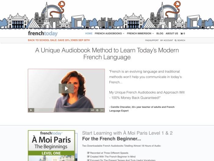 French Today - WooCommerce Showcase