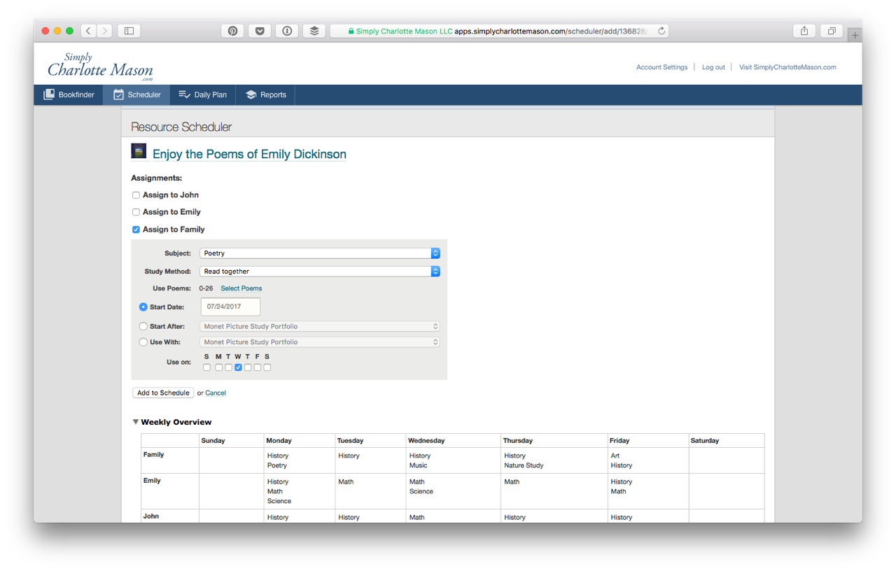 A screenshot from the CM Organizer, powered by WooCommerce Subscriptions and built on Ruby On Rails