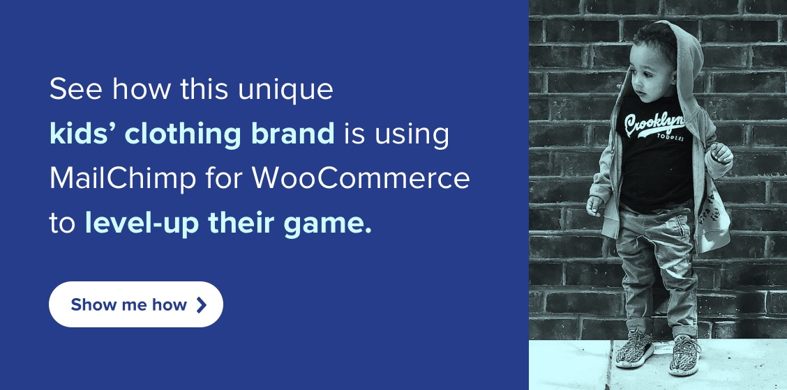 See how this unique kids' clothing brand is using MailChimp for WooCommerce to level-up their game.