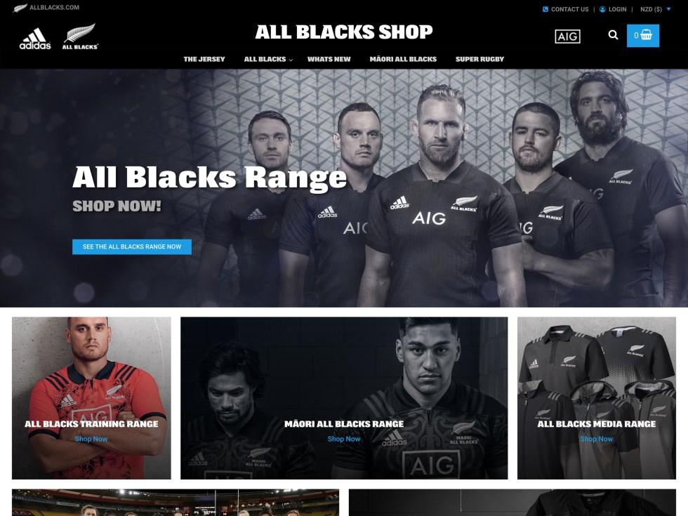 All Blacks - WooCommerce Showcase