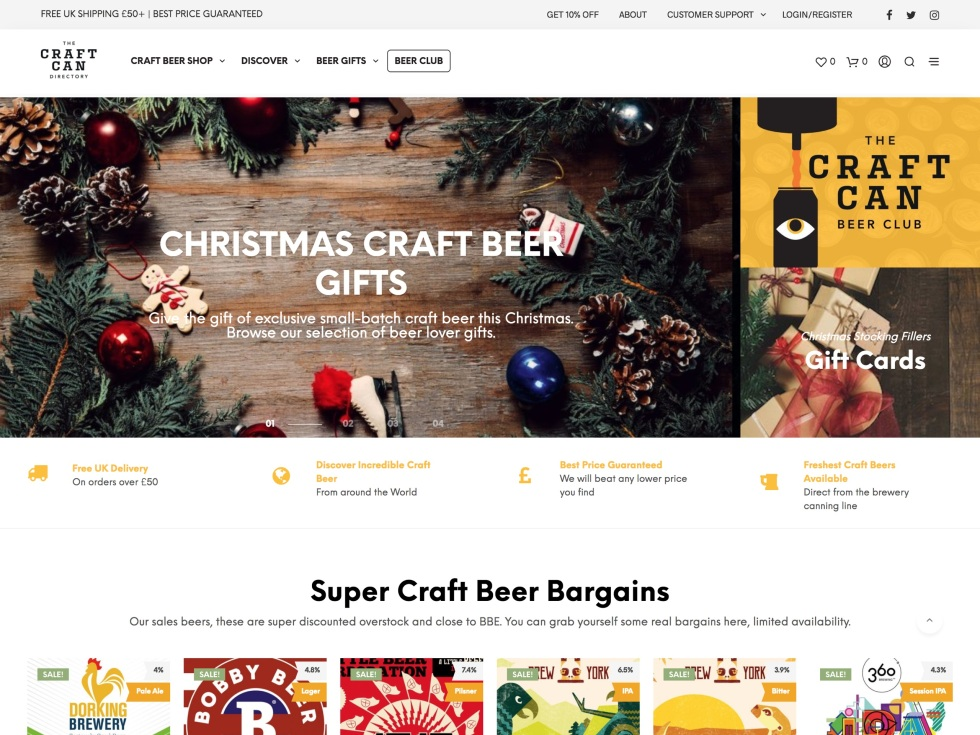 The Craft Can Directory - WooCommerce Showcase