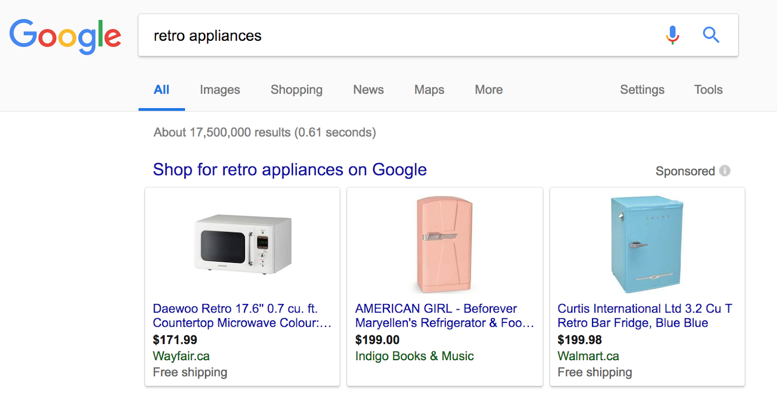 Have items from your store appear as search results through Google Shopping Ads to increase your chances of a first sale