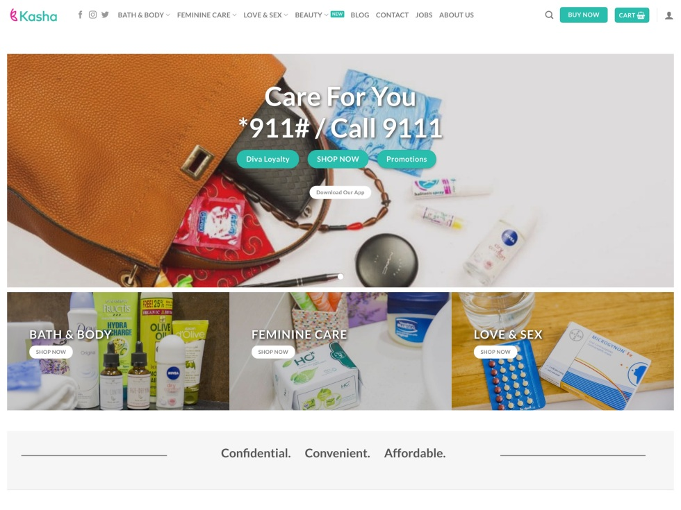 Kasha - WooCommerce Showcase