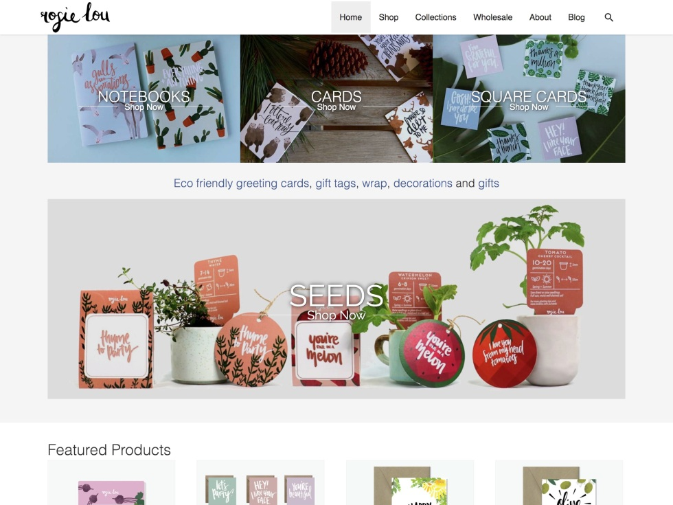 Rosie Lou - WooCommerce Showcase