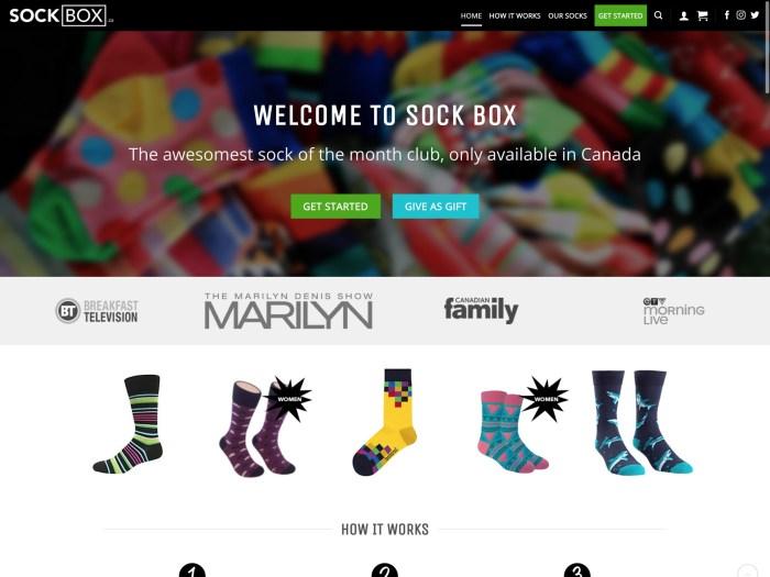 Sock Box - WooCommerce Showcase