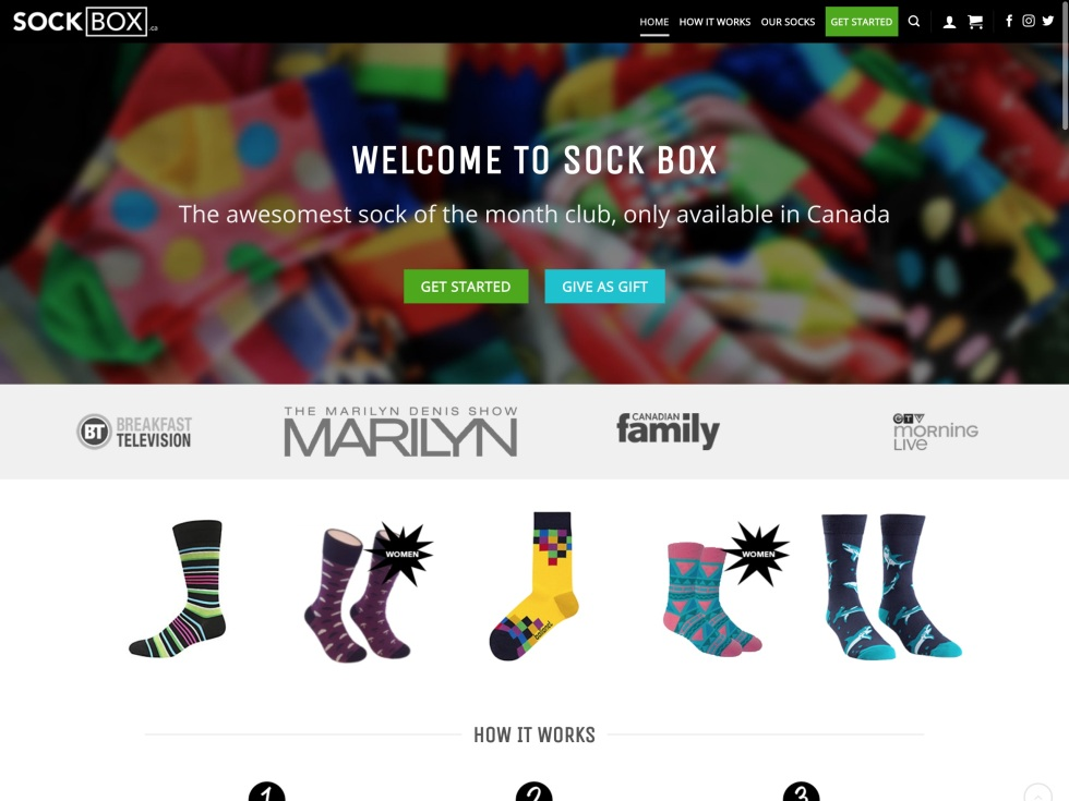Sock Box - WooCommerce Showcase