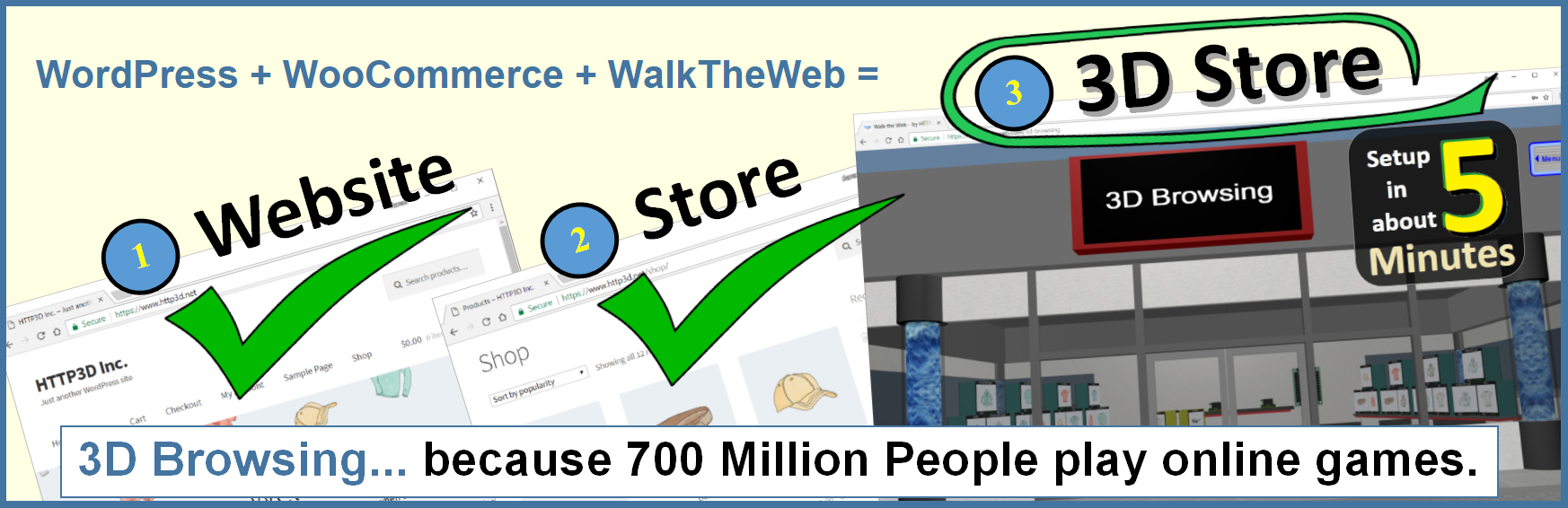 WalkTheWeb 3D Store
