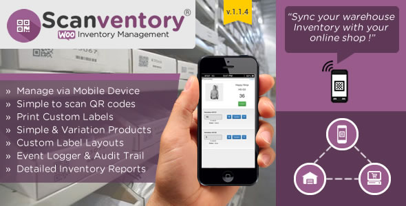 woocommerce mobile inventory management