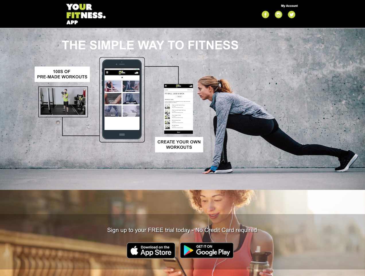 Your Fitness App - The Simple Way To Fitness