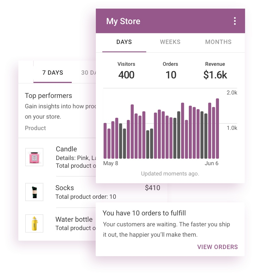 WooCommerce Mobile App for iPhone & Android - Your WooCommerce Store