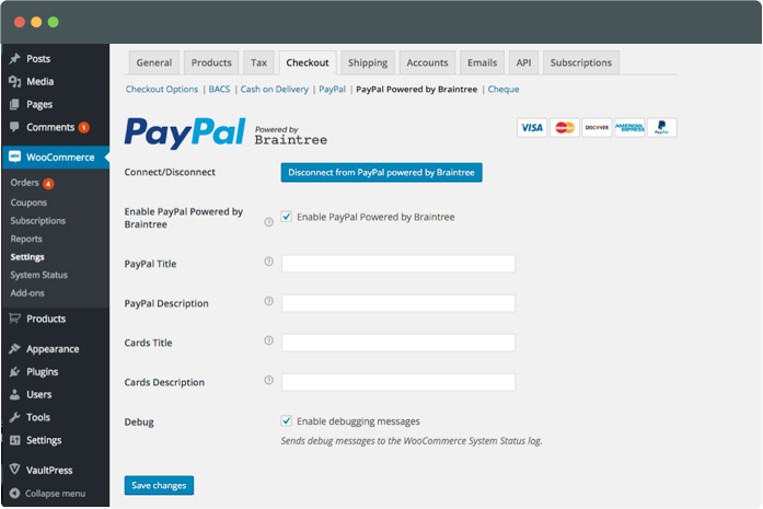 Accept Payments With A WooCommerce Integrated PayPal Gateway