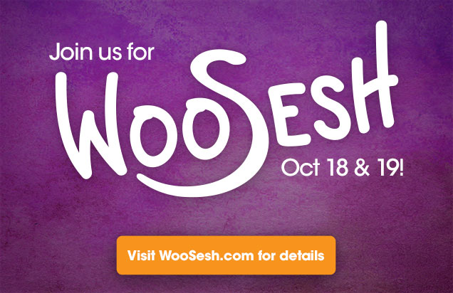 Join us for WooSesh, Oct 18-19