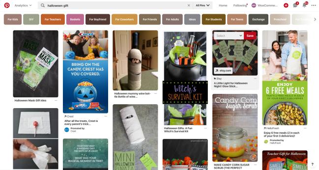 Halloween gifts on Pinterest