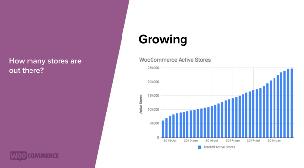 WooCommerce Active Stores Trends