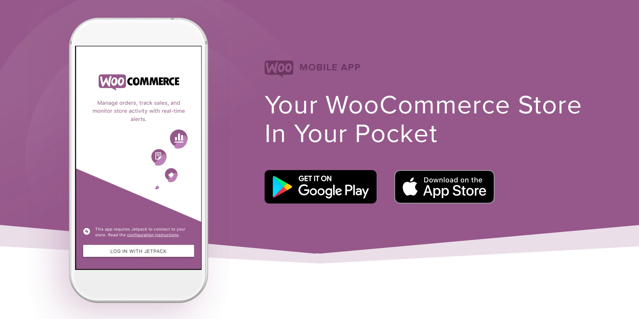 Try The New WooCommerce Mobile App for Key Metrics, Order Look-Up, and Notifications – cha-ching!