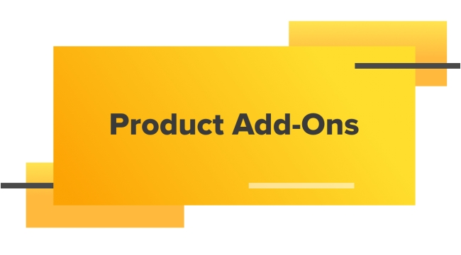 Product Add-Ons
