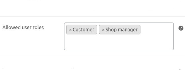 BOGO for WooCommerce - Rules by user role feature