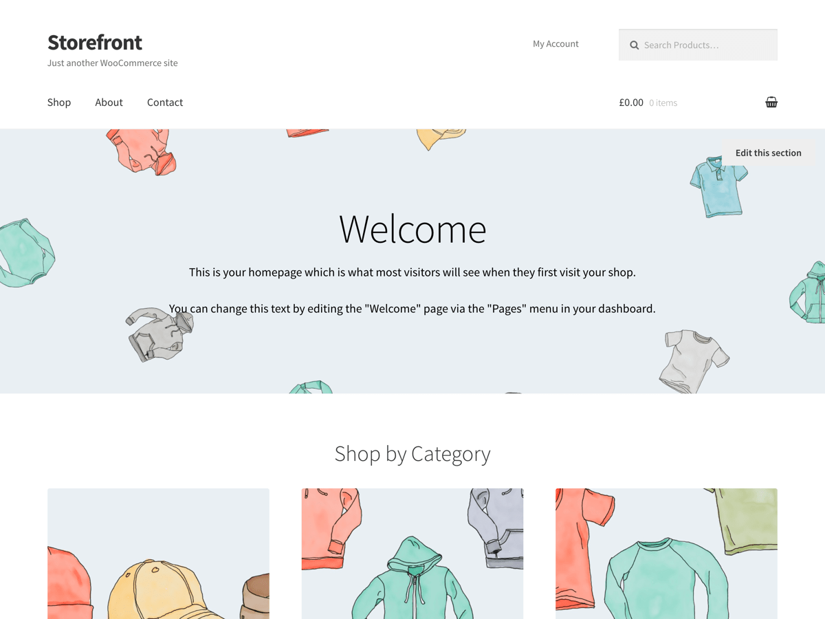Woocommerce Storefront The Official Woocommerce Theme