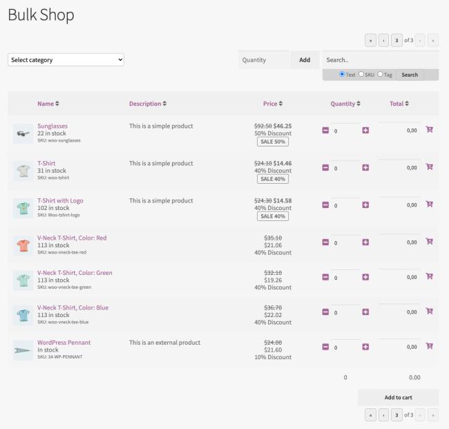Bulk Shop - Roles & Rules B2B