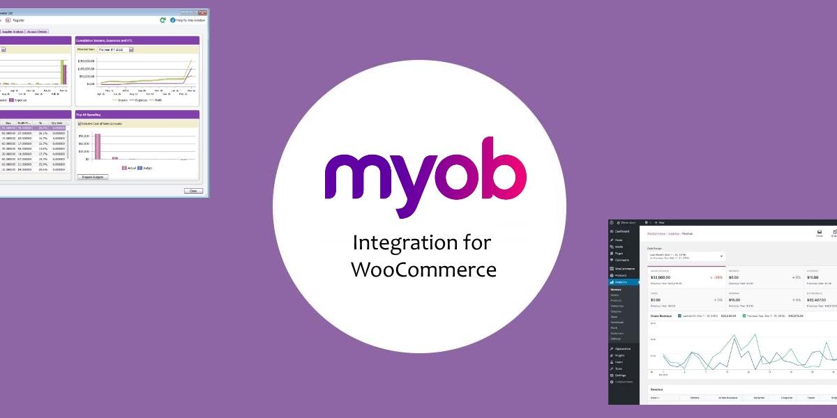 Banner of MYOB Integration for WooCommerce