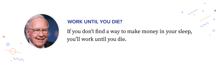 Don't work until you die.. Use affiliate marketing and make others work for you!