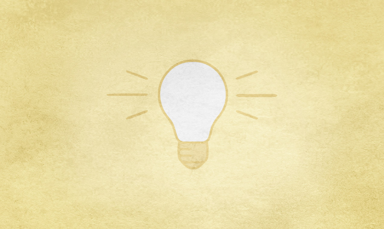 Lightbulb illustration.