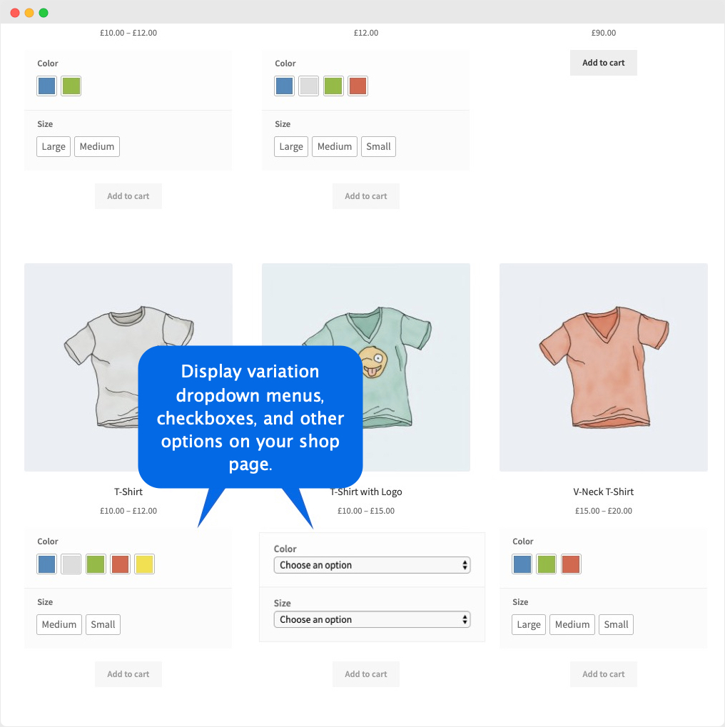 WooCommerce Display Product Attributes on Shop Page