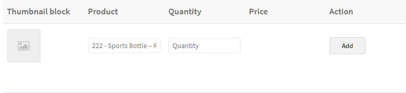 powerful search functionality feature on quick order form