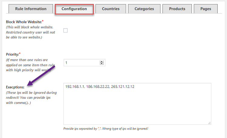 geoip location for woocommerce