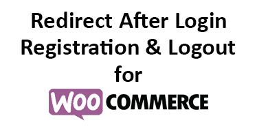 Redirect After Login, Registration, and Logout