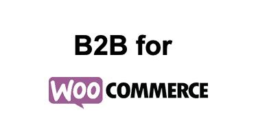 B2B for WooCommerce