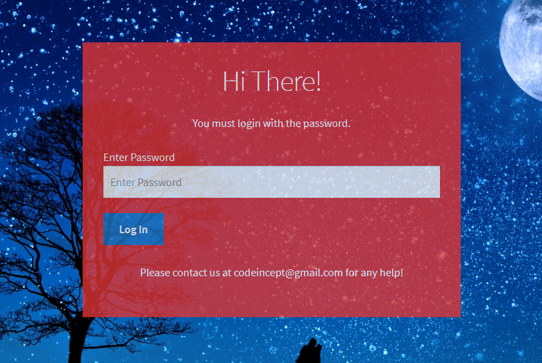 Password Protected Categories & store