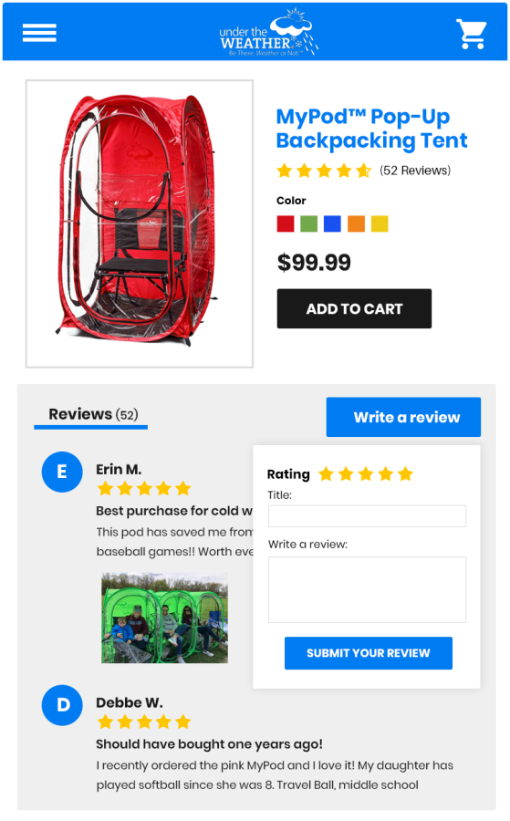 TargetBay Plugin to Display Product, Customer and Picture Reviews in WooCommerce
