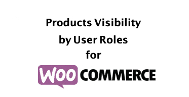 Products Visibility by User Roles