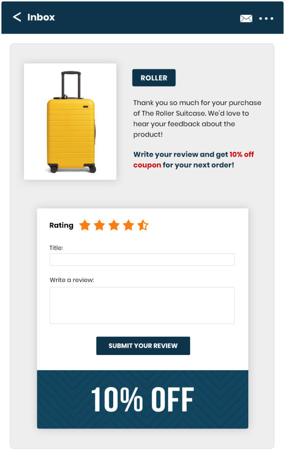 Review Coupons for WooCommerce Product Reviews