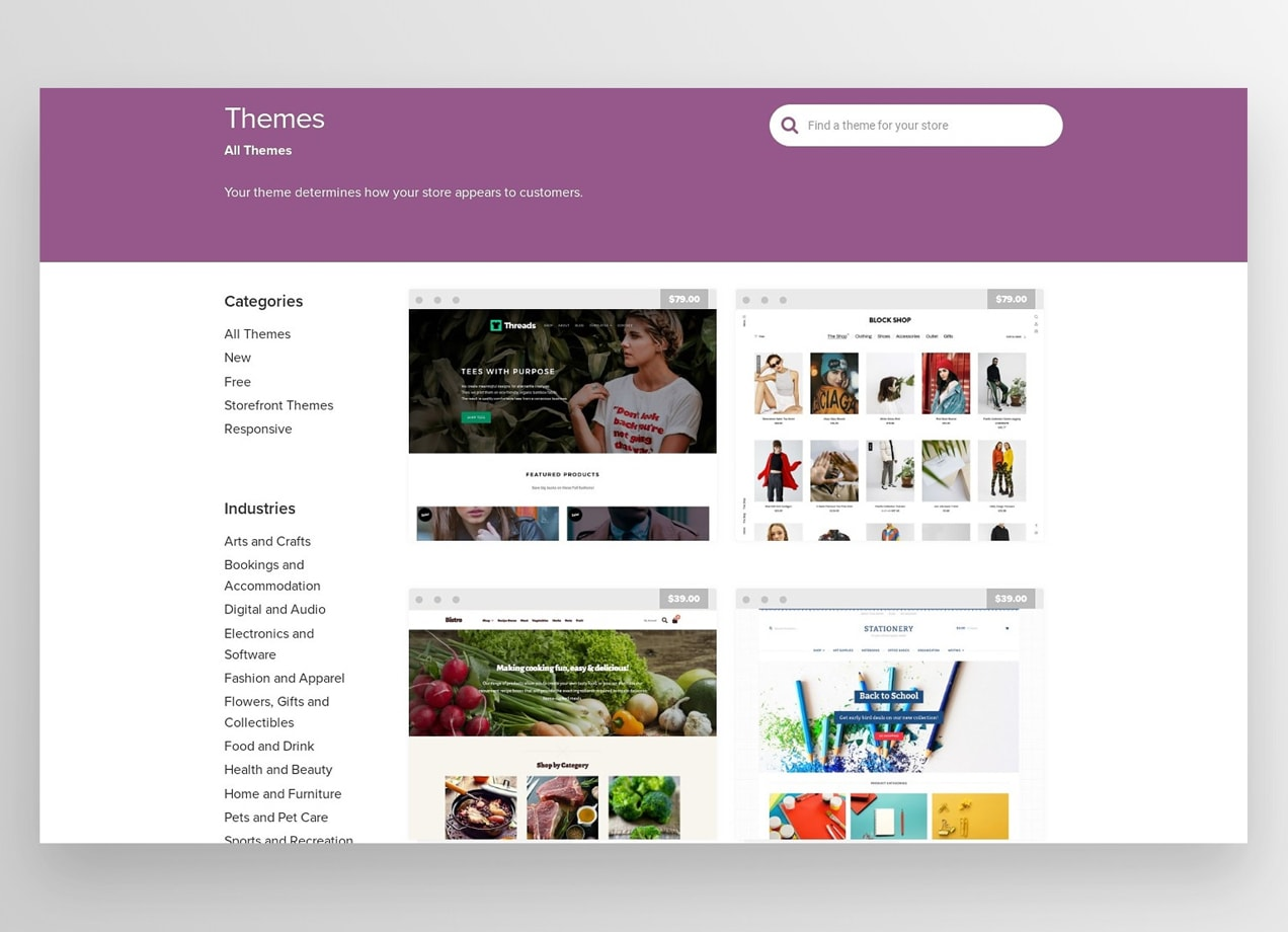 The WooCommerce theme library